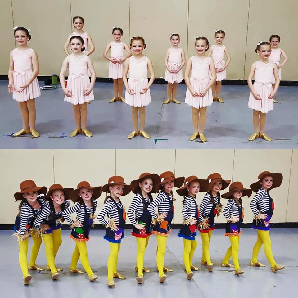 mini company costumes
